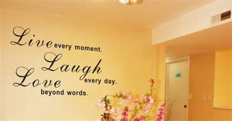 bedroom wall quotes pinterest black live laugh love wall decal wall quote wall words