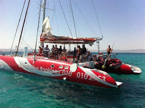 catamaran boat hurghada foto de ocean diva catamaran sailing cruises el gouna