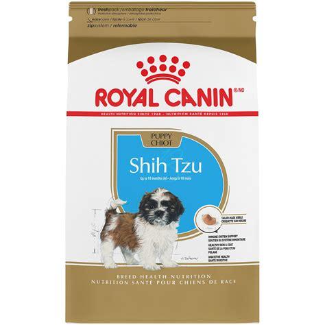 royal camini royal canin breed health nutrition shih tzu puppy