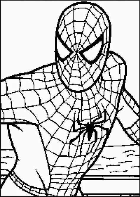 coloring pages spiderman free printable coloring pages