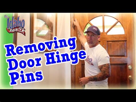 exterior door hinge pin removal vote no on how to remove an exterior door