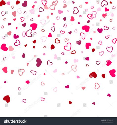 love shape pattern vector heart shape outline love background vector stock vector