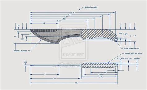 pattern drawing application knife designs patterns drawings thread show me your