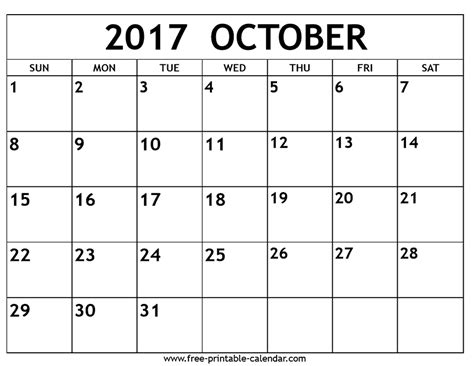 printable october 2017 calendar pages october 2017 calendar free printable 2017 calendars