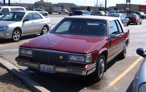 1988 cadillac coupe curbside classic 1988 cadillac coupe de ville how not