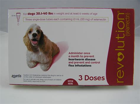 revolution flea treatment for dogs revolution spot on flea treatment for dogs 20 1 40 lbs