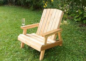 Wooden Patio Chairs by Building A Lawn Chair