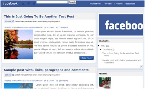 Download Layout Untuk Facebook | download template blog quot tilan facebook quot untuk blog