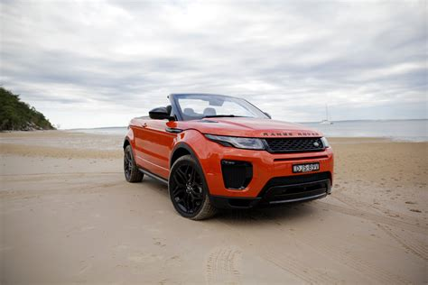 orange range rover evoque 2017 range rover evoque convertible review caradvice