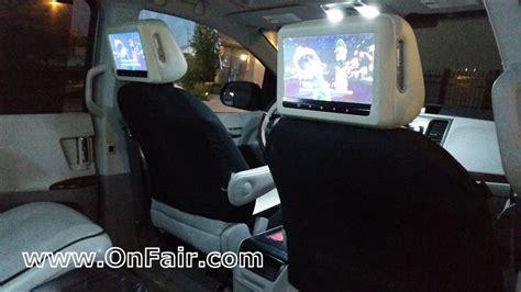 Toyota Headrest Dvd Toyota Car Dvd Player Install Review Headrest Dvd