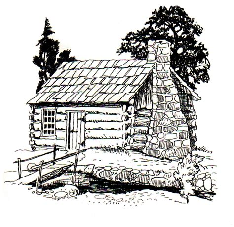 log cabin drawings file cabin psf jpg wikimedia commons