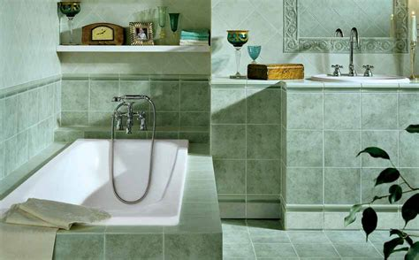 bagno classico piastrelle piastrelle bagno 20x20 pavimento rivestimento canova verde