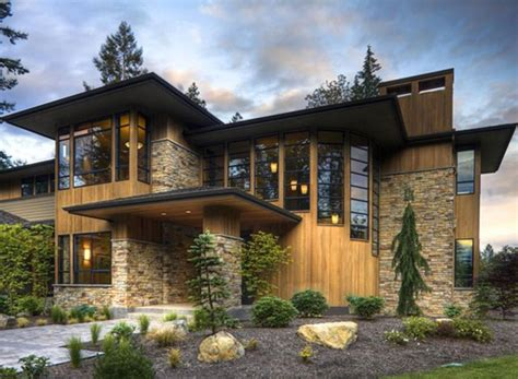 contemporary house style modern design luxury style house elevation photo modern