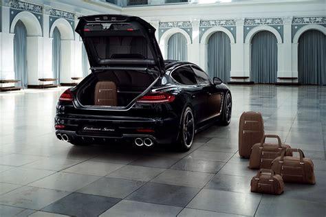 Porsche Panamera Kofferraum by Porsche Panamera Als Sondermodell Exklusive Series