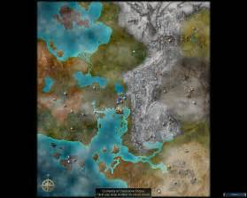 Eye Of The World Map by Prophecies Map Guild Wars