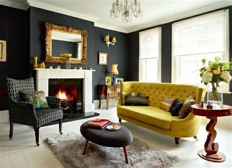 Living Room Color Schemes Black Living Room Colors 22 Decorating Ideas With Black