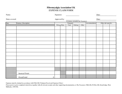 microsoft templates for business expenses expense claim form template microsoft office excel