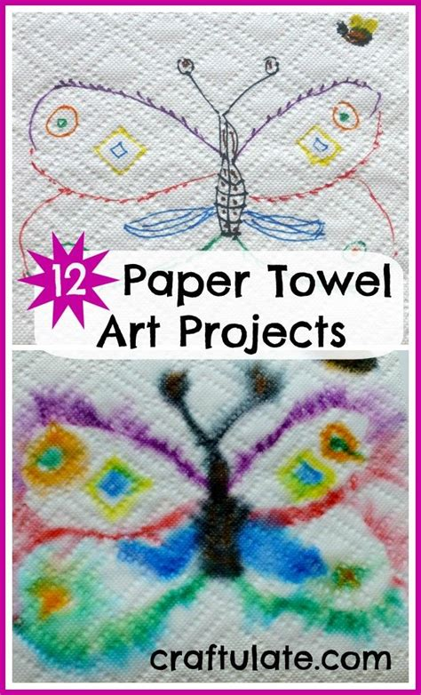 Paper Towel Arts And Crafts - 25 unique construction paper projects for ideas on