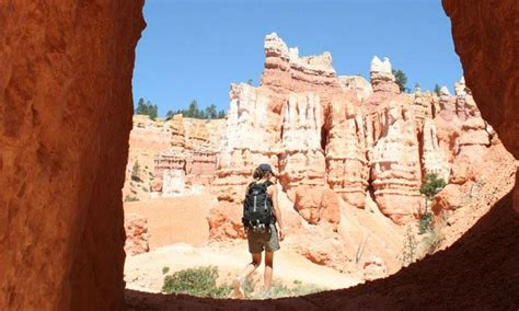bryce hiking map bryce national park trails maps trail guide