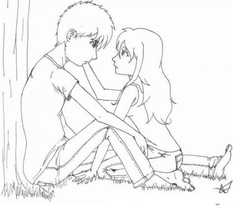 imagenes para dibujar de parejas dibujos para dibujar una pareja enamorada imagui