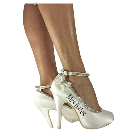 4 inches high heels ivory 4 inch high heels for bridal wedding shoes pumps with