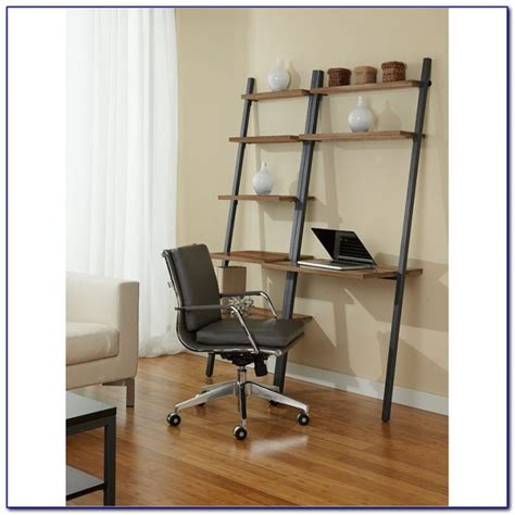 Leaning Shelf With Desk by Leaning Desk With Shelf Desk Home Design Ideas Xxpyrygnby73393