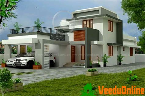 Double Floor Kerala Home Design 2000 Sq Ft