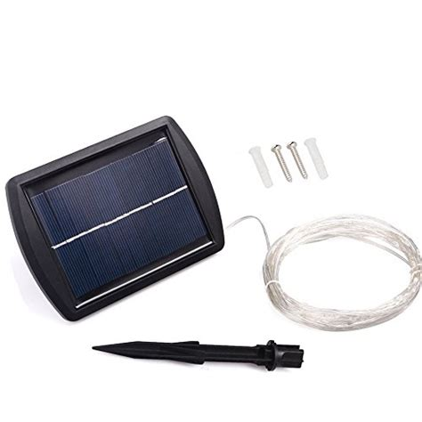 Solar Panel String Lights Ledniceker Solar Powered Starry Lights String With