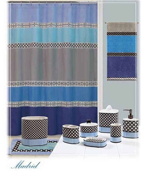 Bathroom Shower Curtains And Matching Accessories Ayanahouse Bathroom Shower Curtains And Matching Accessories