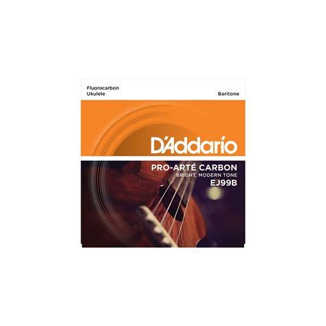 D Addario Pro Arte Strings - d addario ej99b pro arte carbon ukulele baritone strings