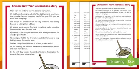 new year story twinkl ks1 new year celebrations story differentiated reading