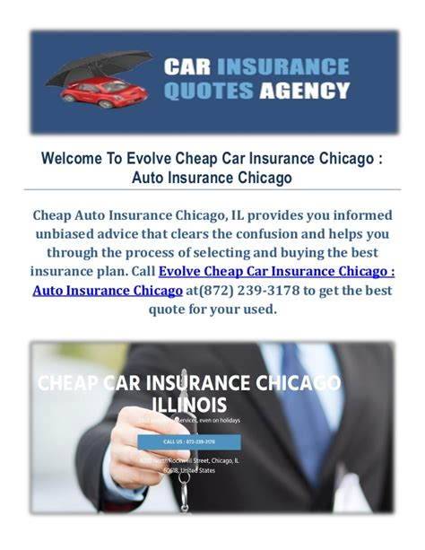Cheap Car Insurance by Evolve Cheap Car Insurance In Chicago Il Cheap Auto