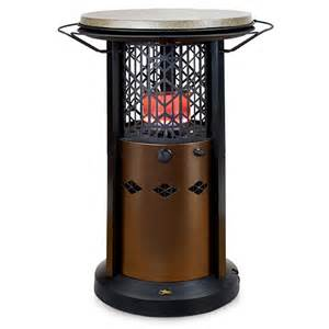 Patio Heater With Table Bistro Table Patio Heater Outdoor Leisure Patio Heater Review