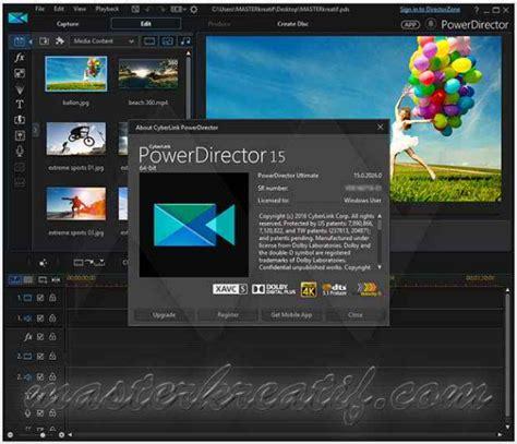 cyberlink video editing software free download full version cyberlink powerdirector 15 ultimate full version crack