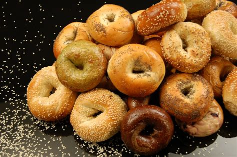 bagels images what a bagel is giving away free bagels this month