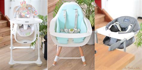 chaise haute pour bébé test produit les chaises hautes pour b 233 b 233 la mari 233 e en