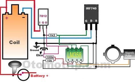 fungsi transistor irf740 rangkaian pengapian transistor menggunakan fet irf740 otomotrip