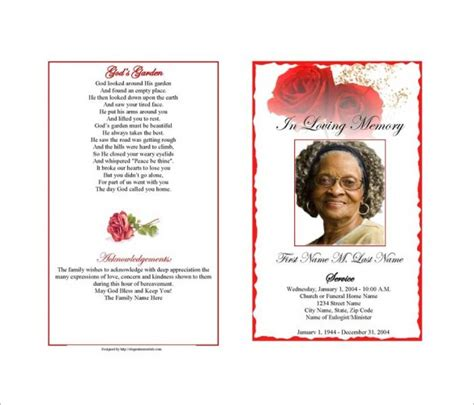 death obituary template 13 free word excel pdf psd