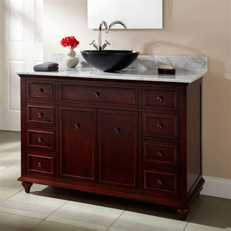 bathroom vanities with vessel sink 72 quot weiss walnut double vessel sink vanity bathroom