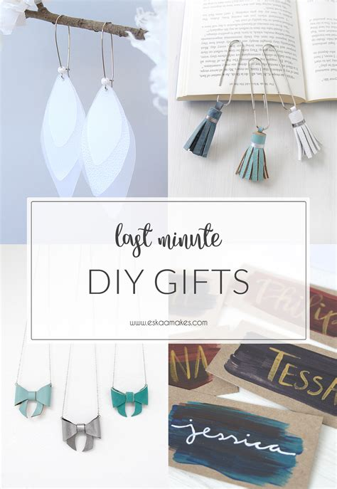 last minute diy gifts for last minute diy gift ideas and gift tags 187 es kaa makes