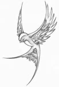 nice bird tattoo sketch tattooshunt com