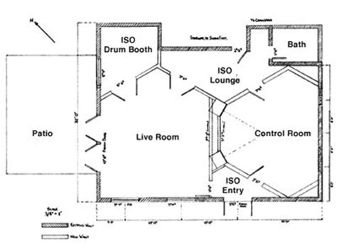 Music Studio Layout by 30 Best Recording Studio Plans Layouts Images On