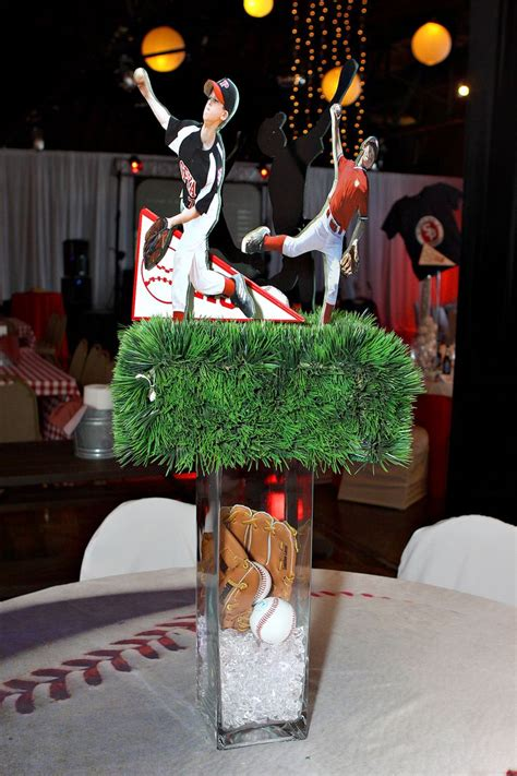 baseball themed decorating ideas 1000 images about baseball theme bar and bat mitzvah