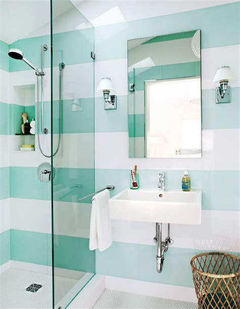 striped bathroom idea decorate with stripes inspiration ideas brabbu