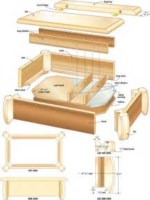 How To Build A Toy Chest For Beginners by Simple Wood Jewelry Box Plans Pdf Woodworking
