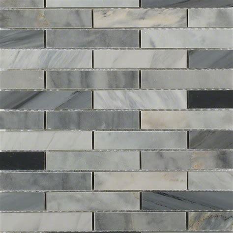 Brick Big 6 Complete shop for bardiglio blend big brick pattern at tilebar