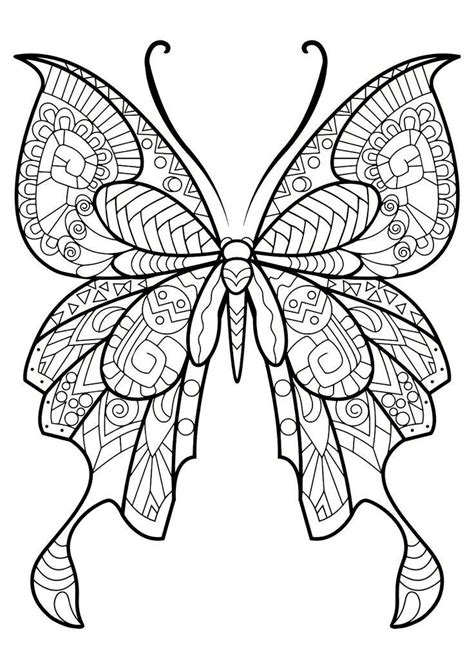 butterfly to color fantastic beautiful butterfly coloring image butterfly