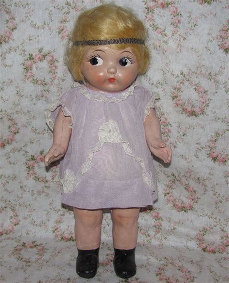 composition carnival doll pin by mirjam slegh on vintage toys