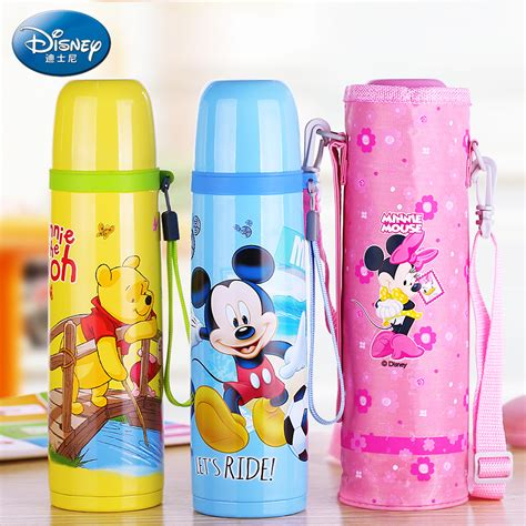 Thermos Disney disney baby thermos bottle feeding water bottle vacuum flask insulation kettle stainless