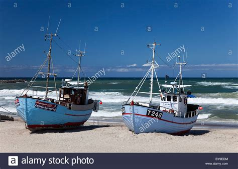 fishing boat on the beach fishing boats on the beach of norre vorupor noerre